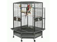 Brand new liberta macaw parrot cage big size h-1830 -w-1000-d1130 brand new still in box