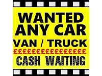 Scrap cars wanted we pay cash up to £300