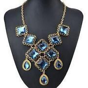 Vintage Pendant Long Chain Necklace