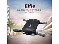 JJRC H37 Elfie foldable pocket selfie drone altitude hold FPV camera with carrycase