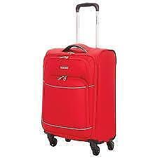 Samsonite 85434-1726 Sebring Ltd 21.5in Soft Side 4-Wheeled Spinner Carry-On Luggage - Red (new other)