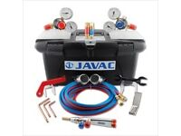 Javac Welding Set Oxy-Act in Toolbox and trolley