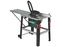 """Metabo tkhs315 12"""" table saw 3 year warranty"""