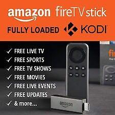 Amazon Fire TV stick configured with Pulse build.