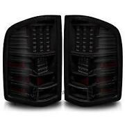 Chevy 1500 Smoked Tail Lights