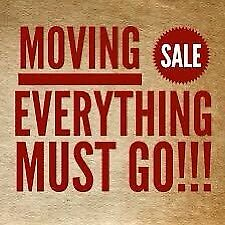 MOVING SALE!!! Everything must go!