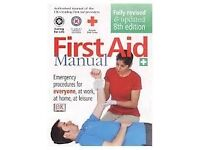 first aid training manual £5