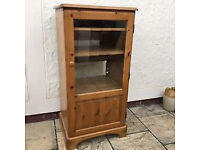Used Ducal Victoria Pine TV HI-FI Drinks Cabinet Unit Stand Cupboard