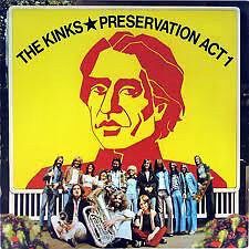 Kinks-Preservation Act 1 cd
