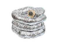 Manrose 5in/127mm insulated aluminium hose
