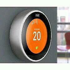 BRAND NEW Nest Wi-Fi Smart Thermostat 3rd Gen 220$+ 100$ REBATE