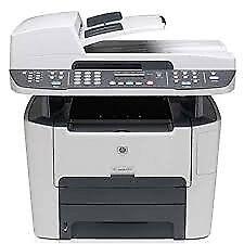 HP LaserJet 3390 network Multi-Function network laser printer.
