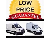 CHEAP VAN & MAN 24/7 Urgent short notice removals house,flat,office,commercial move & waste clear