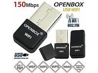 Openbox Skybox Wifi Dongle USB Adapter Antenna For F3 F3s F5 F5s V8 V8s V8se zgemma vu solo