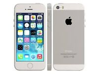 IPhone 5S Silver 16GB With Warranty