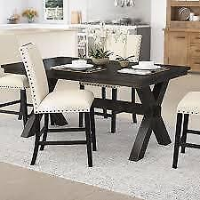Manitou Transitional Dining Table  Laurel Foundry Modern Farmhouse NEW ** 5 CORNERS FURNITURE **