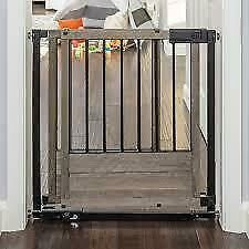 SUMMER INFANT 27763 Rustic Home Sliding Hardware/Pressure Mounted Safety Gate (New other)