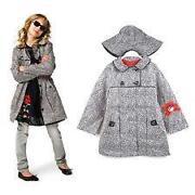 Girls Raincoat Size 8
