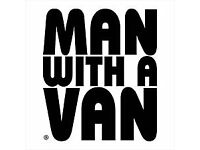 MAN AND A VAN at a fair price. From a Single item to Full loads. 1 man, 2 men or self load.