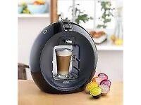 Nescafe Dolce Gusto Coffee Machine CIRCOLO AUTOMATIC BLACK BY DELONGHi