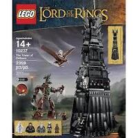 LEGO 10237 Lord of the Rings LOTR The Tower of Orthanc 2359pcs
