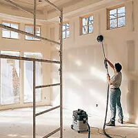 Drywall Taping and Finishing (DUST FREE)