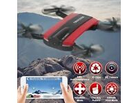jxd wifi foldable fpv pocket drone quadcopter