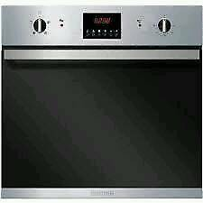 NEW::BAUMATIC SINGLE BUILT IN OVEN BO625SS - STAINLESS STEEL WITH 12 MONTHS WARRANTY