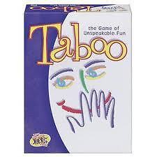 Original Taboo, Celebrity Taboo, Taboo Jr.-- all are complete London Ontario image 4