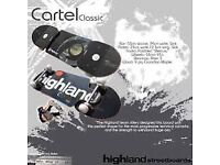 Highland Cartel Classic Streetbaord & Mongoose Skateboard Bundle