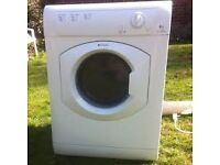 98 Hotpoint TVM560 6kg White Vented Tumble Dryer 1 YEAR GUARANTEE FREE DELIVERY
