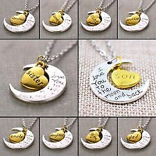 Love you to the moon and back necklace new