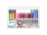 Brand New SHARPIE 30 PACK FINE PERMANENT MARKERS PENS LIMITED EDITION SET NEW WORK SCHOOL