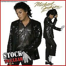 Michael Jackson adult fancy dress up outfit
