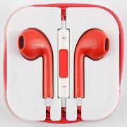 Red iPod Earphones