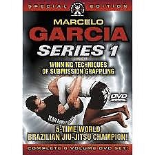 MARCELO GARCIA dvds Brazilian jiu jitsu bjj - gracie barra - POSTAGE AVAILABLE gi training ufc