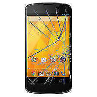 LG Nexus 4 LCD and cracked screen replacement Also Fix Charging