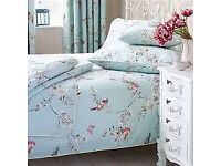 Dunelm Beautiful Birds Curtains and Bedding