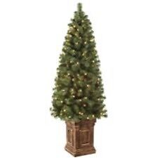 Noma 5ft Pre-lit Richmond Pine Potted Trees