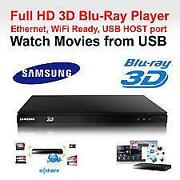 Samsung 3D Blu Ray Player