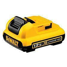dewalt  DCB127 12V MAX* Lithium Ion Battery Pack neuveee