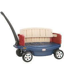 Deluxe Ride Relax Wagon removable sides which enable the wagon to be converted to a bench