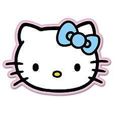Hello Kitty Car Decal EBay - Hello kitty car decal stickers