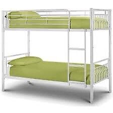 Silver, Bunk Bed, Frame, Ortho, Single, Mattress,