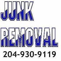 GARBAGE - JUNK REMOVAL SERVICE CALL OR TEXT 204-930-9119