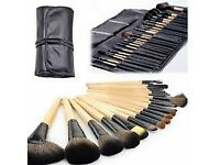 Wholesale 24pcs make up brushes last 35pcs available