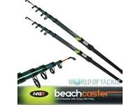 Brand New 12 ft 6 section beachcaster fishing rods