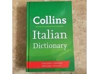 END OF SUMMER SALE - New Collins Italian Dictionaries £6 (RRP £20)