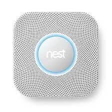 Nest Protect, Smoke + Carbon Monoxide Alarm (Wired 120V).