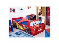 Disney Lightning Mcqueen car bed - new and unpacked